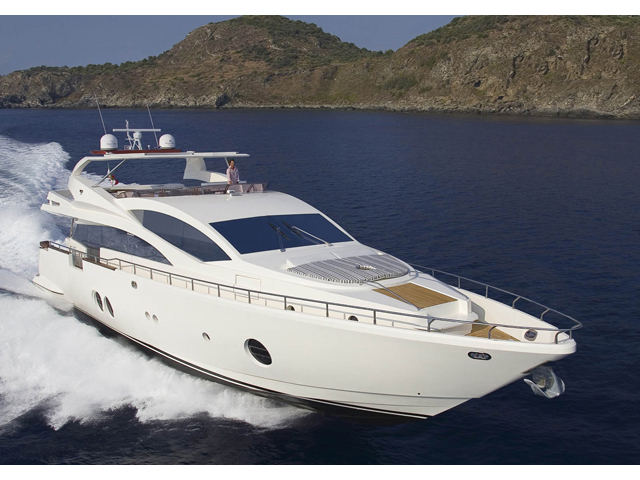 Luxury Yacht - Aicon 85